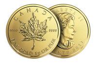 *NEW* 1 gram Canada Gold Maple 50c from Gold Maplegram25™ 9999 Fine in assay!
