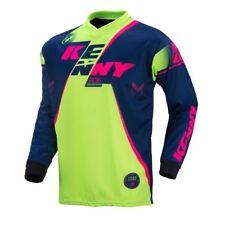Kenny Marine Adult MX Motocross Jersey Lime Rose Flo