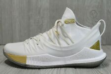 57 Under Armour Stephen Curry 5 White 10 - 15 MVP 2018 Championship 3020657-100