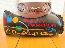 Titleist Scotty Cameron California Del Mar Honey Dipped Finish Mid Mallet Putter