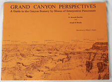 Vintage Grand Canyon Perspectives Scenery by Means of Interpretive Panoramas