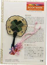 Traditional Korean Metal Bookmark - four-leaf clover1
