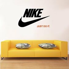 Nike Just Do It Quote Decals Vinyl Sticker For Room Home Bedroom