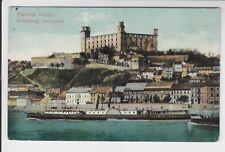 AK Bratislava, Pressburg, Schlossberg, Dampfer 1910