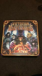 Victorian Masterminds CMON Board Game Like New