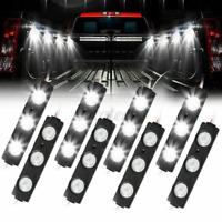 8PCS Pickup Car Truck Cargo Bed Light 12V 24 LED Kit Strip W/ Switch   R