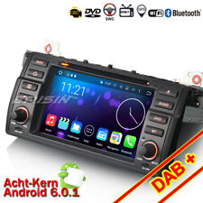 "7"" BMW E46 M3 3er 318 320 Rover75 MG ZT Autoradio DAB+Android 6.0 GPS Navi CD SD"