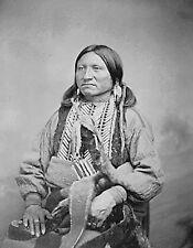 METAL FRIDGE MAGNET Kicking Bird Kiowa Chief 1868 Native American Indian