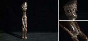 Kleine weibliche Fetish-Figur aus Holz Burkina Faso Mitte 20. Jahrhundert