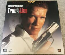 TRUE LIES widescreen LASERDISC Schwarzenegger/Jamie Lee Curtis ARNOLD LIES 2WIFE