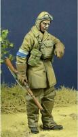 D-day Miniature 1:35 WWII BEF Dispatch Rider France 1940 Resin Figure Kit #35092
