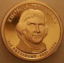 2007 D Thomas Jefferson Presidential Dollar Uncirculated Denver Mint 1 Roll $25