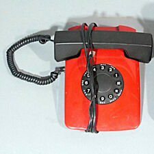 Mint US Tron Model PL200 Phone red/black telephone push button/rotary red/black