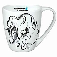 RONNIE WOOD 'Whatever It Takes' SAVE THE ELEPHANTS Tea Mug