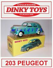 1/43 - PEUGEOT 203 - Die-cast [ Dinky Toys Collection Repro ]