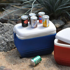 Miniature Fairy Garden Soda Cans