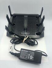 Netgear Nighthawk X6 R8000 AC3200 4-Port Gigabit Wireless AC Router