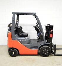 Nice! 2007 Toyota 4000 Lb Lpg Forklift 4,000 Lb 8Fgcu20 Side Shift