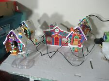 Mr Christmas Mickey's Clock Shop TESTED COMPLETE WORKS with box