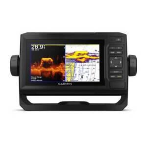 GARMIN echoMAP Plus 64cv GPS Chartplotter Fishfinder w/Maps & Xducr 010-01890-05