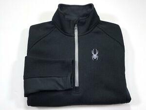Spyder M Men's Outbound Core Jacket Half Zip Sweatshirt Sweater Black
