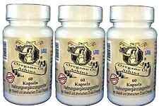 3 X Athina Oregano-Öl 3 X 60 Kapseln - Softgels-Forte 500 mg, 80 mg Carvacrol.