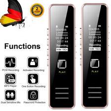 Mini Digital 32GB Diktiergerät Voice Recorder USB Aufnahmegerät Sprachaufnahme