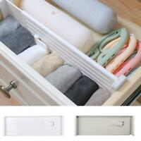 Adjustable Drawer Organizer Kitchen Cabinet Board Divider Storage Box G7F0