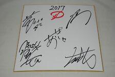 D authentic autograph signed paper Japan Asagi Ruiza mega rare visual kei