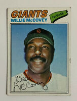 1977 Willie McCovey # 547 Topps Baseball Card San Francisco Giants HOF SF