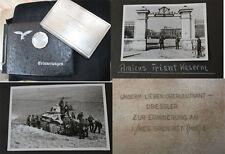 Fotoalbum + Panzer Abw. Abt. 193 / Frankreich Amiens + Geschenk Schatulle Teller
