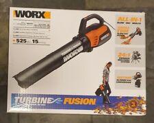 WORX WG510 TURBINE Fusion 12 Amp Electric Leaf Blower/Mulcher/Vacuum