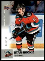 2019-20 UD CHL Exclusives Parallel #346 Pavel Novak /100 - Kelowna Rockets