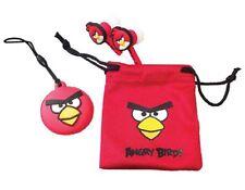Red Angry Birds Bird Buds Gamer Earphones Headphones Nintendo iPhone Psp