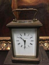 CLOCK BY MATTHEW NORMAN BRASS CARRIAGE TIMEPIECE, NO.1752,