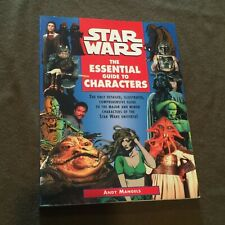 Star Wars The Essential Guide to Characters Large Softback Book Andy Mangels