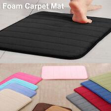 Memory Foam Bathmat Non-slip Mat Rug Shower Carpet Floor Mat Home Decorative