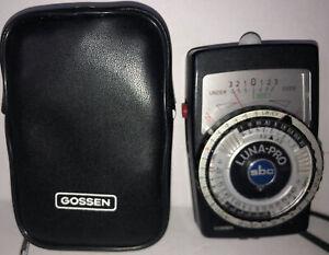 Gossen Luna-Pro SBC Exposure Meter Great Condition