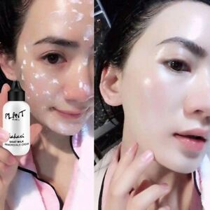 Professional Face Foundation Cream Goat Milk Full Coverage Waterproof makeup