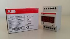 ABB EG 655 3 VLMD-1-2 2CSM110000R1011 VOLTMETRO DIGITALE CA / CC