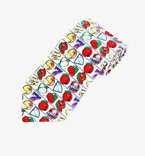 NEW Slots Casino Gambling Las Vegas Theme Tie Mens Necktie