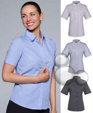 Checked Short Sleeve Tops & Blouses for Women