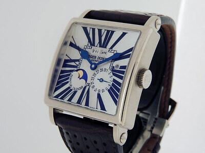 Roger Dubuis Golden Square Perpetual G40 1439 0 White Gold LTD28p $75,000 LNIB