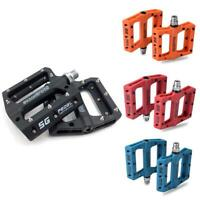 """Bicycle Pedals Metal Alloy Flat Platform for 9//16/"""" Road MTB Mountain Bike Cycle"""