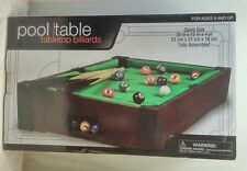 Pool Table Top Billiards 20 x 12 x 4 inches ages 5+ by Westminster New