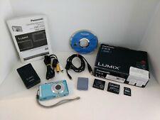 Panasonic LUMIX DMC-FS3 Blue Digital Camera 8.1MegaPixel 3XZoom