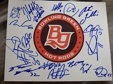 2018 Bowling Green Hot Rods Team Signed 8x10 Photo Auto Brendan McKay