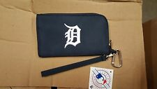 Detroit Tigers ID Wallet Wristlet Cell Phone Case Charm 14 Purse Gift