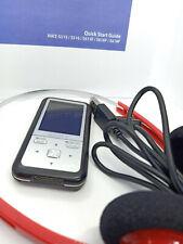 Sony Network Walkman NWZ-S515 MP3 WMA MP4 2GB Digital Media Music Player - Black