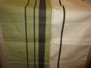 Nautica West End Stripe Cafe Curtains Drapes Set